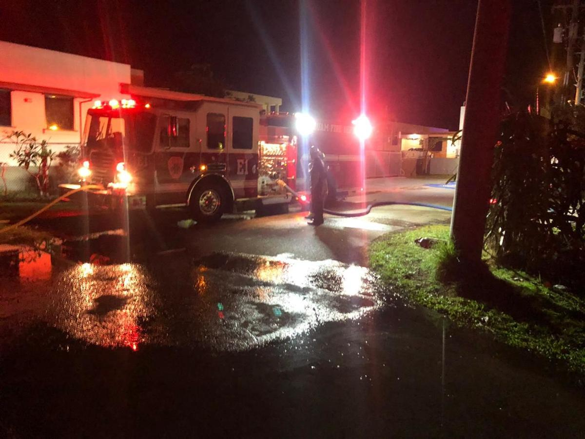 Firefighters respond to another structural fire early Tuesday morning 4