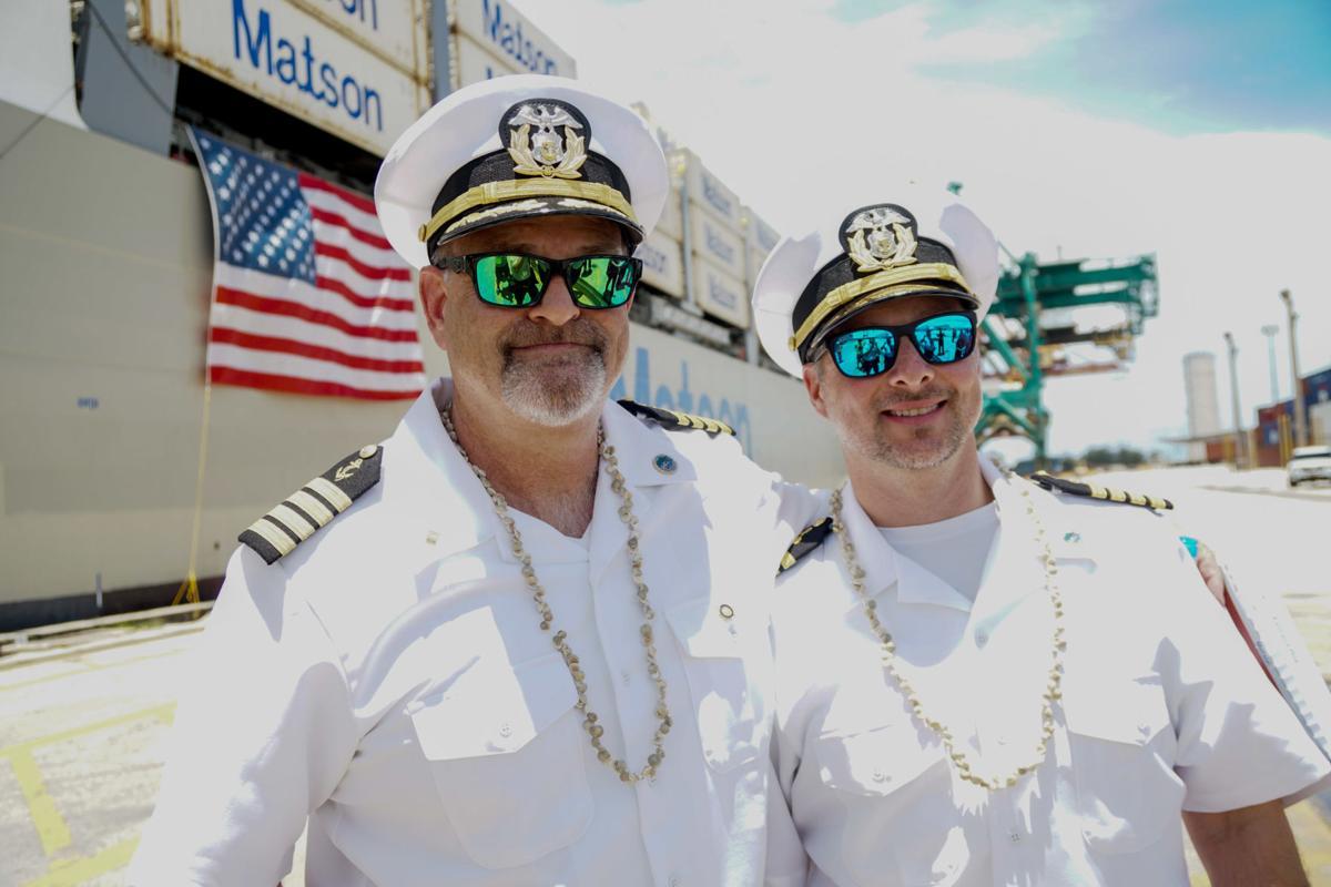 Matson ship ushers in new era