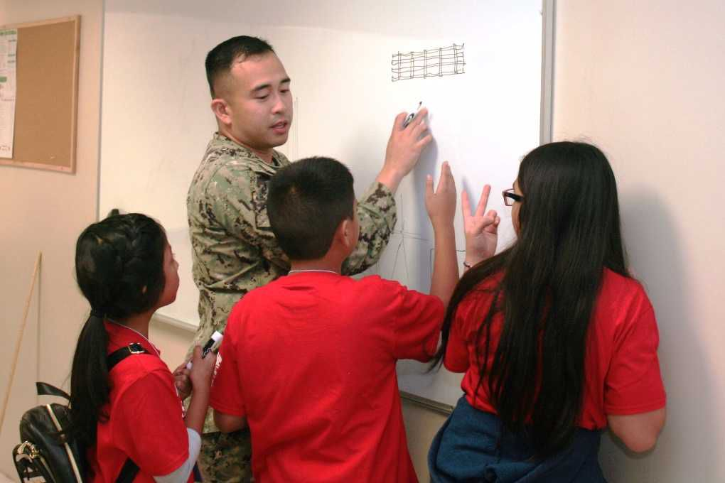 Military engineers host first STEM camp