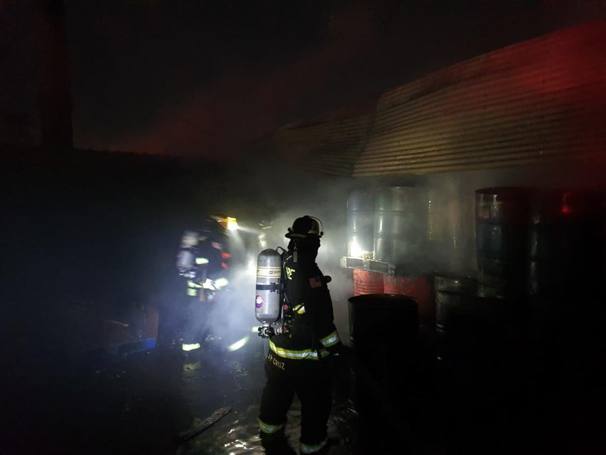 Firefighters respond to GRESCO warehouse fire 2