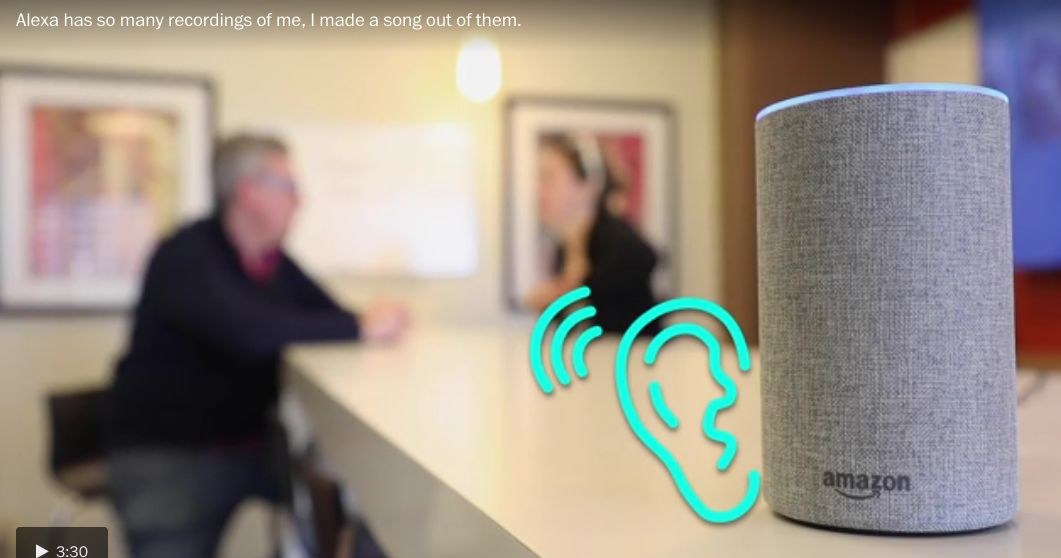 Alexa hasn't stopped listening