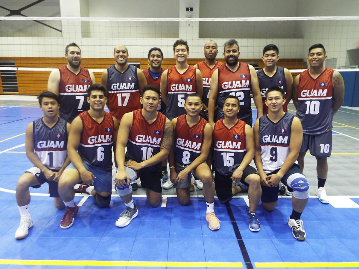 Men's indoor volleyball going for gold