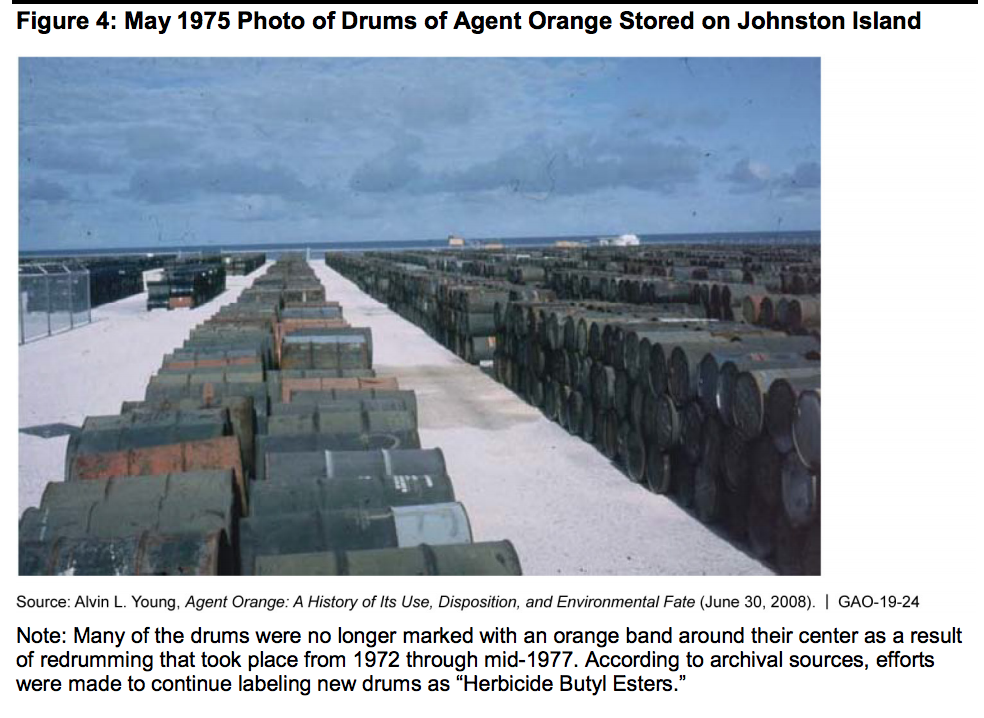 Report: Vietnam War veterans on Guam likely exposed to Agent Orange