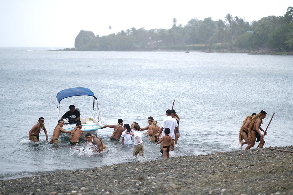 Umatac holds annual reenactment of Magellan's landing