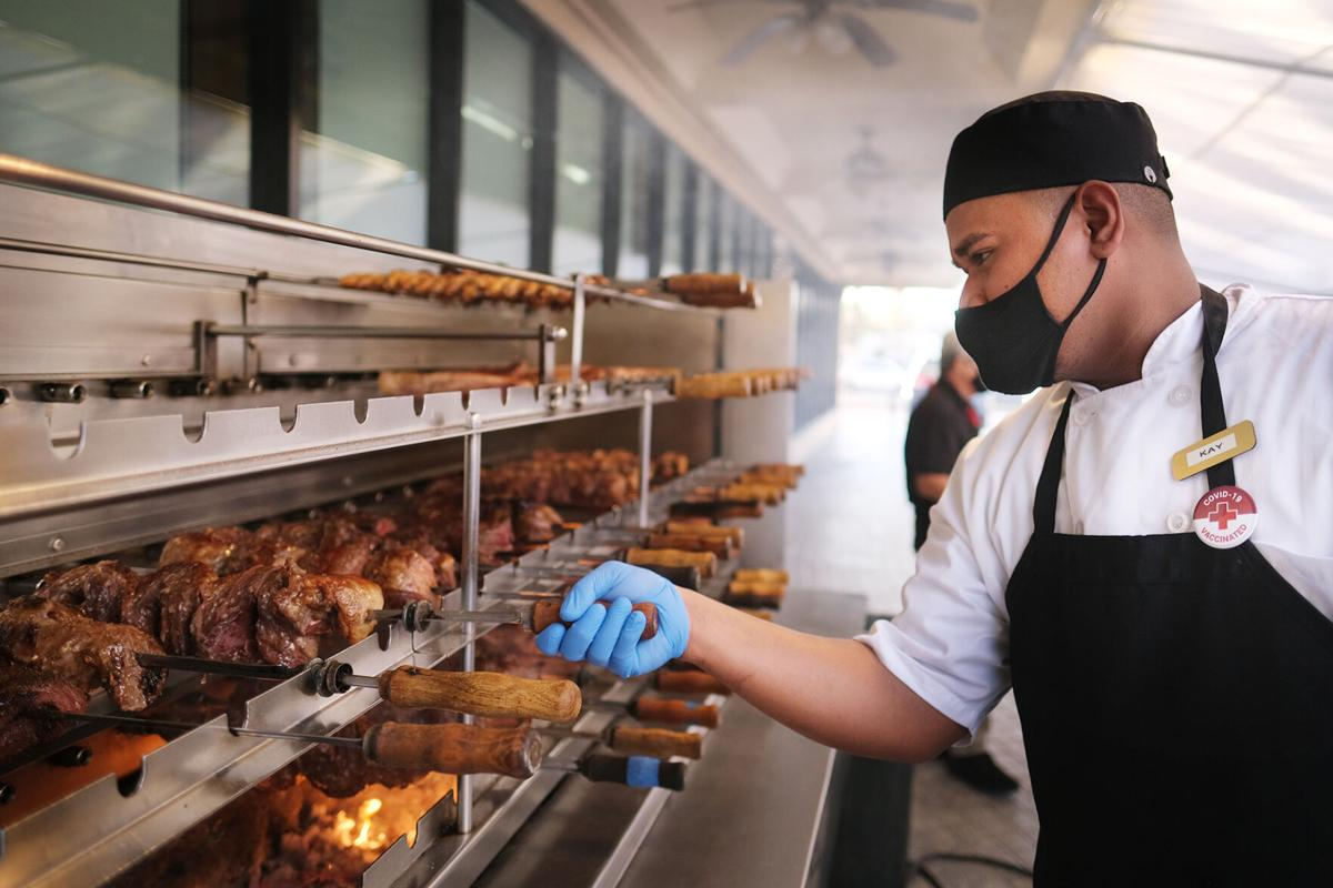 Churrasco back to grilling one year after pandemic shut down
