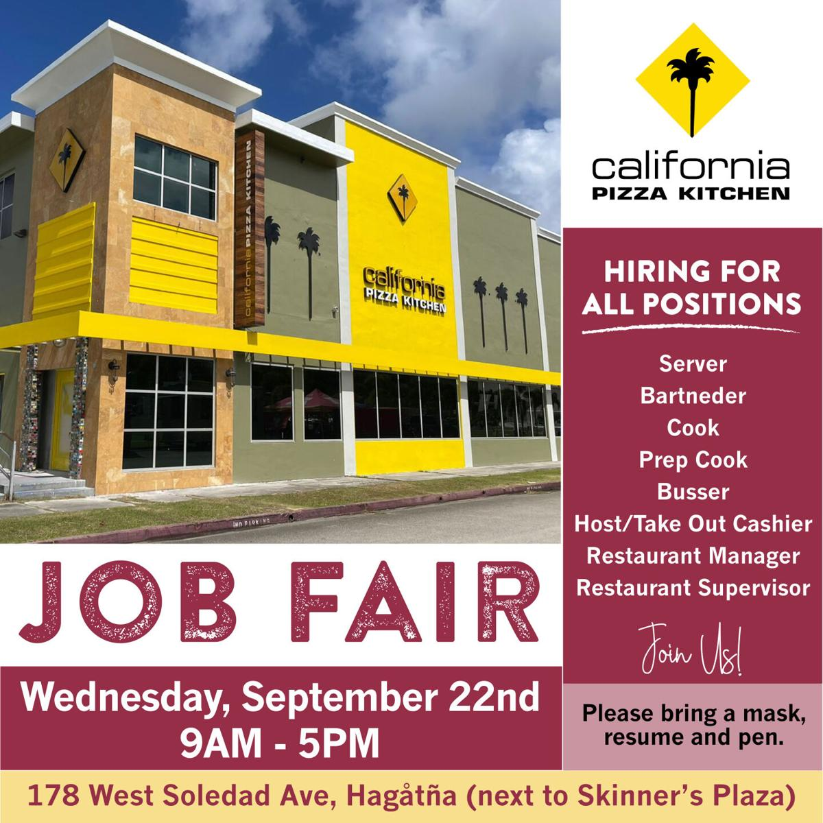 Restaurants to hire on the spot at Wednesday job fair - 2