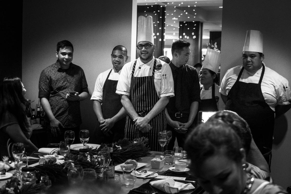 A one-night culinary journey