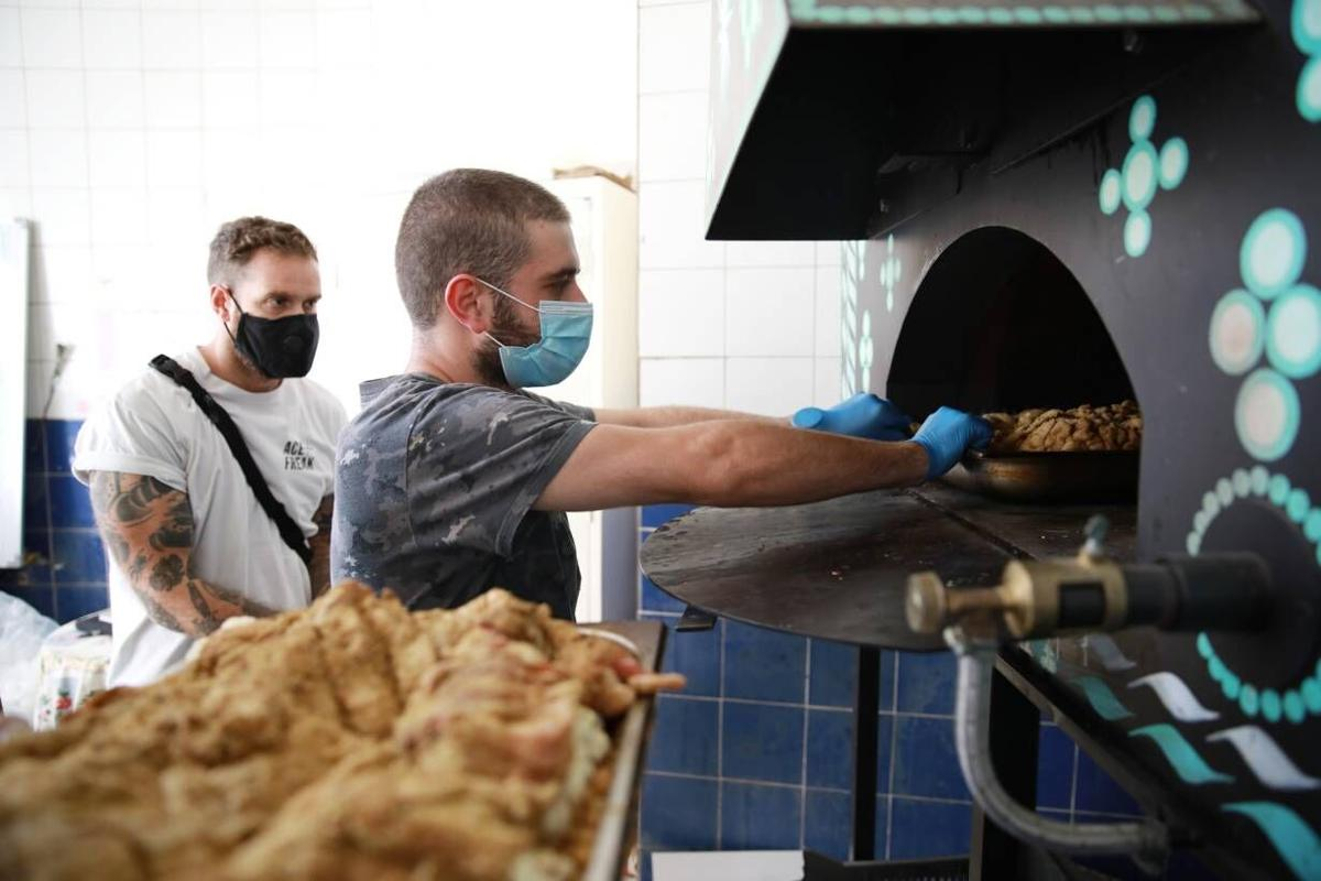 'We came with the oven. We train, we teach'