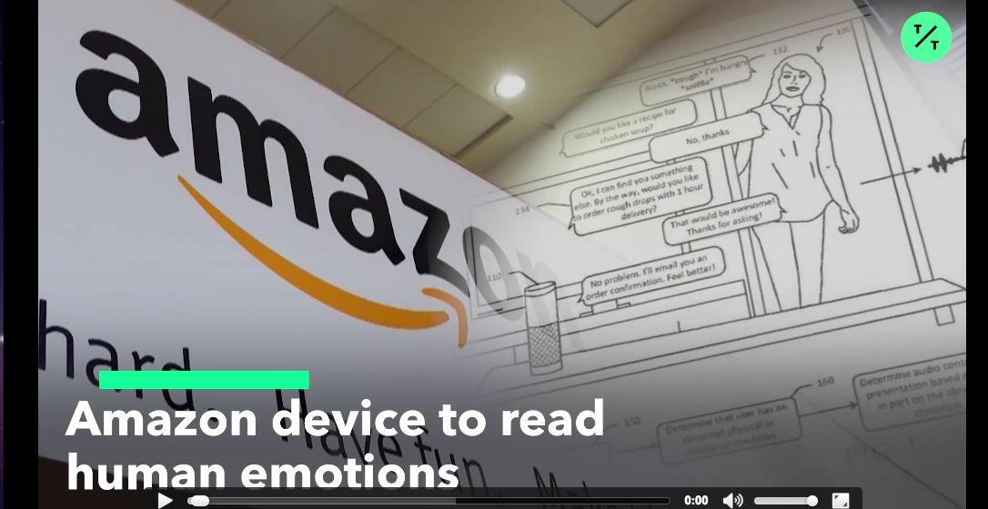Amazon plans include reading human emotions