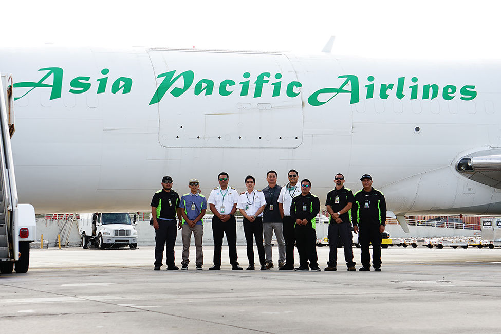 Asia Pacific Airlines retires its last 727