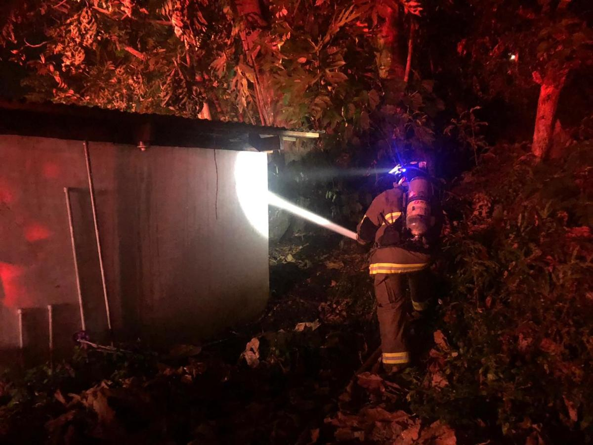 GFD responds to structure fire in Agat