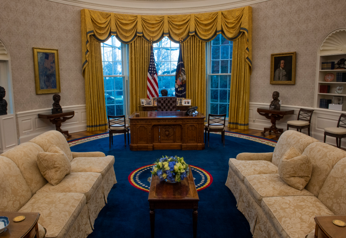 A look inside Biden's Oval Office