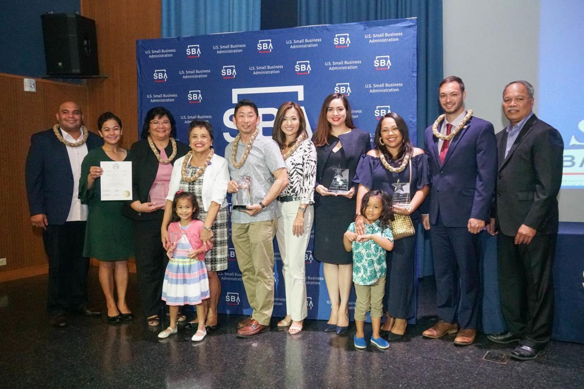 Six honored at 2019 SBA awards