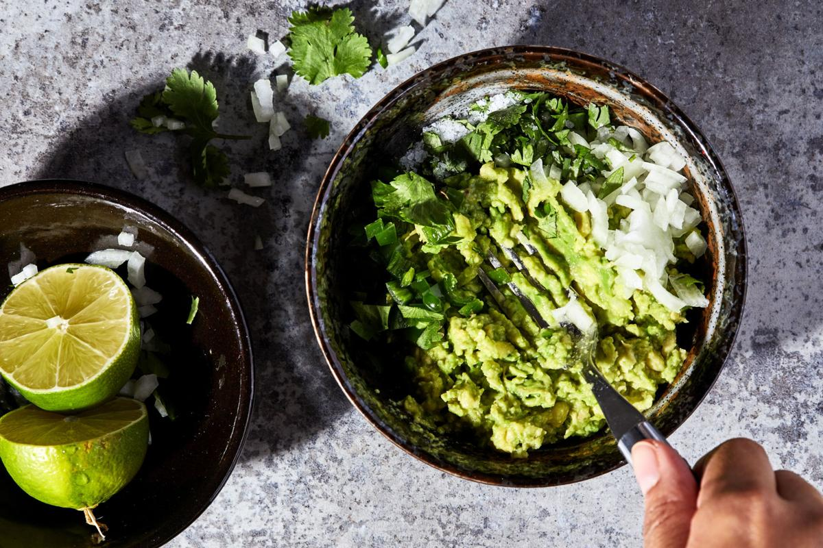 Making a better bowl of guacamole