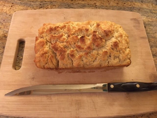 Keep it simple with this no-fuss beer bread recipe