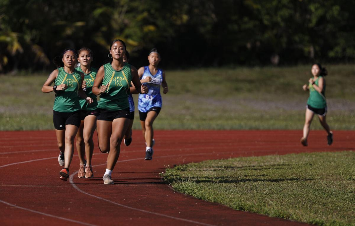 JFK's Hugh Kent, Trixia Nierva win GDOE ISA All-Island Cross-country meet; Islanders' boys and girls win team competition