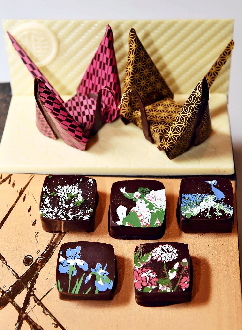 Chocolates reflect Japanese expression