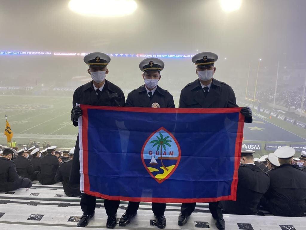 Saber fulfilling US Naval Academy dreams