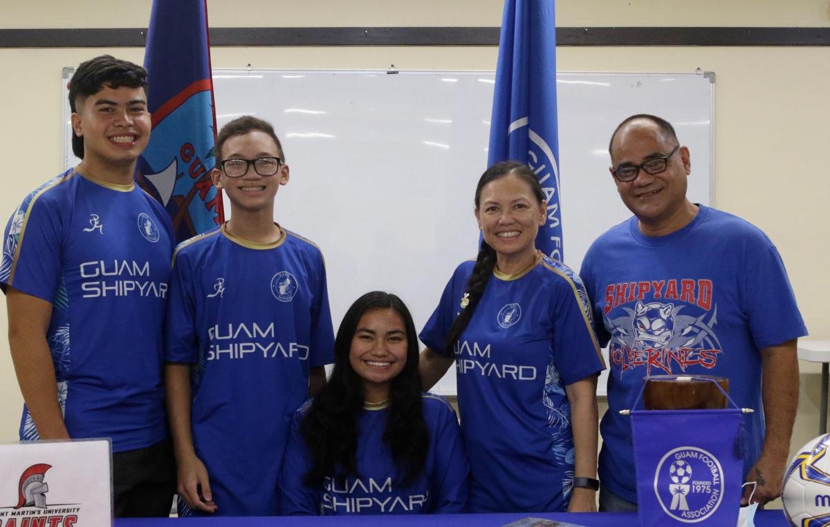 Nearly 50 Guamanians playing college sports