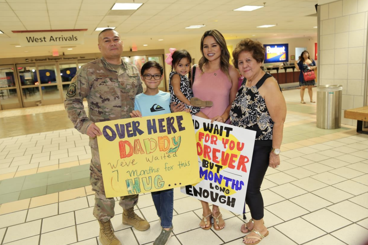 Guam Guard Cyber Airman returns from deployment
