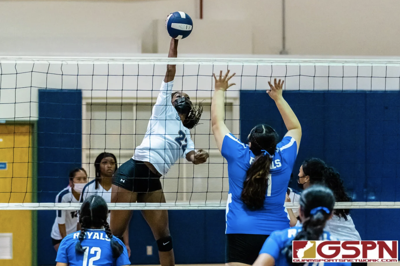 Panthers rally, stun Royals in IIAAG volleyball