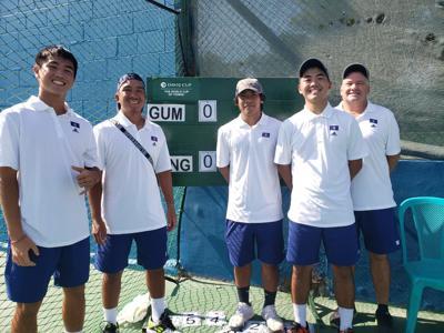 Team Guam edges Mongolia in Davis Cup