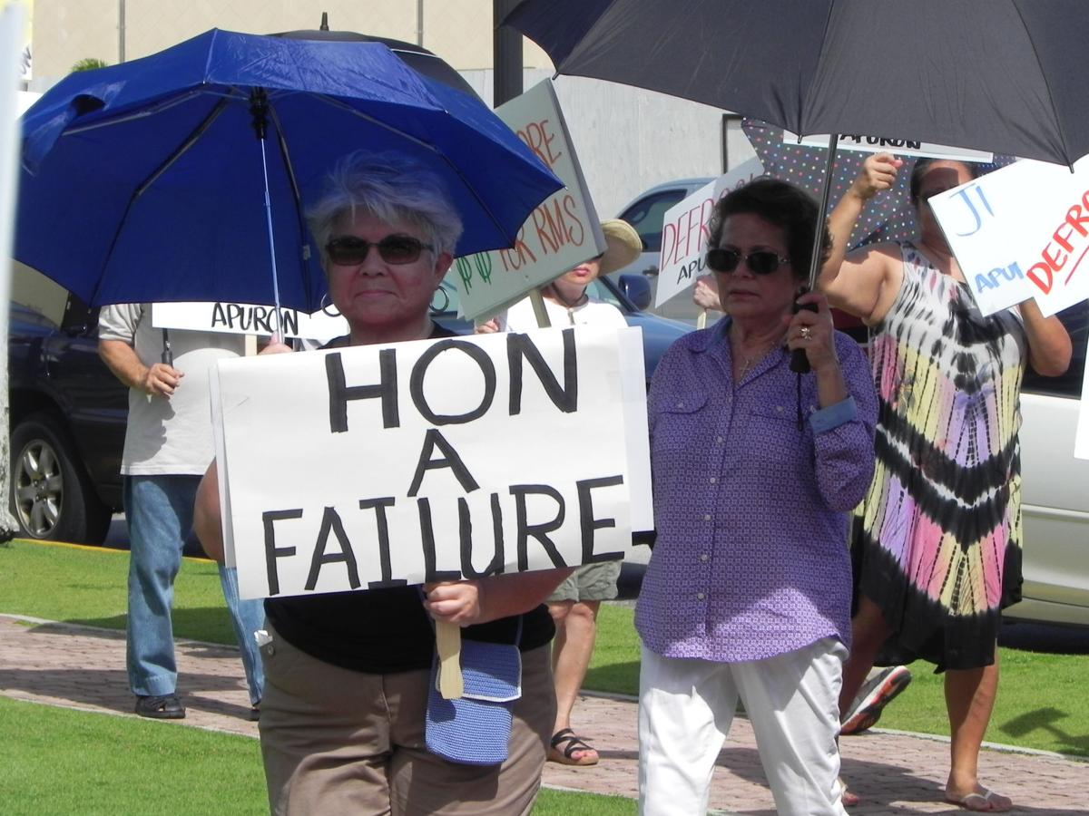 Church protest grows