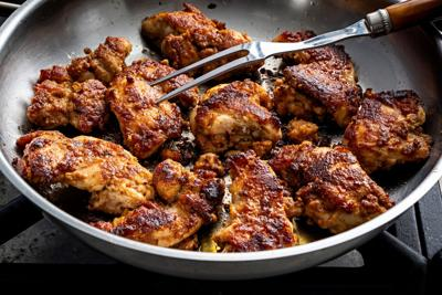 This Masala chicken is crunchy, spicy – and ready in 30 minutes