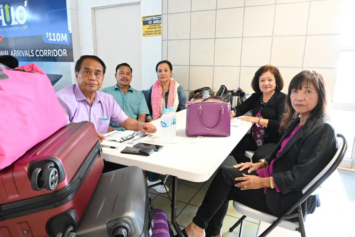 Flights resume – easing the number of stranded passengers on Guam