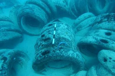 More than 2K tires to be removed from Cocos Lagoon this summer
