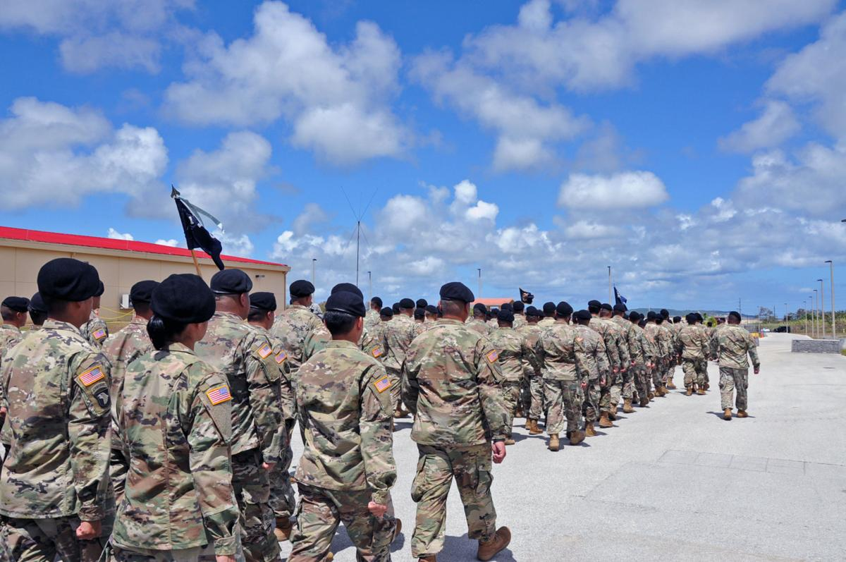 Guam soldiers prepare for deployment