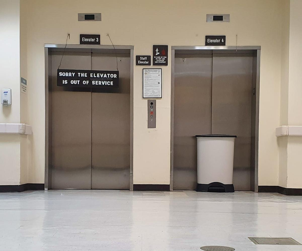 GMH elevators, EHR were temporarily down