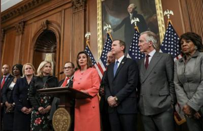 House Democrats deliver impeachment articles