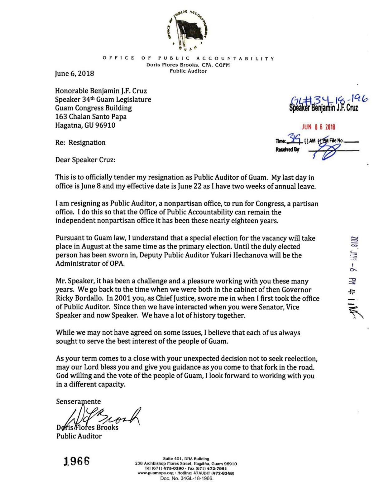 Public auditor doris flores brooks resignation letter to speaker download pdf public auditor doris flores brooks resignation letter to speaker benjamin cruz spiritdancerdesigns Choice Image
