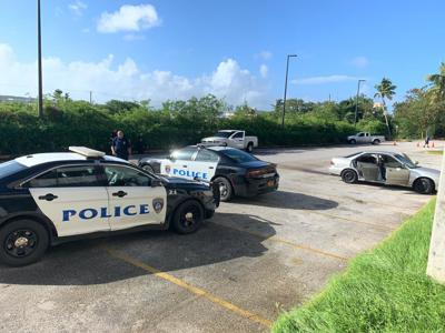 Police await autopsy of man found dead at mall parking lot