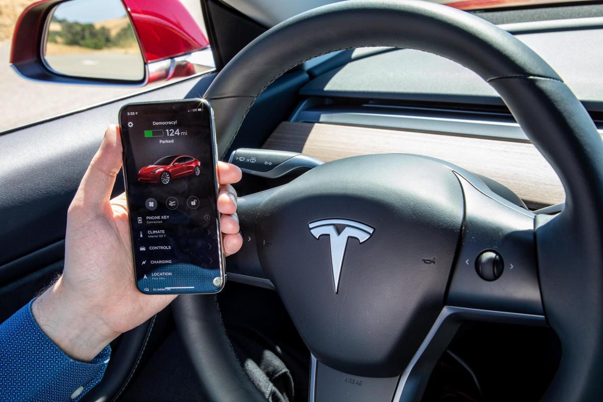 Behind the wheel of a Tesla Model 3   Technology   postguam com