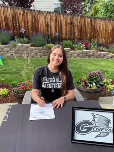 Mia San Nicolas signs with Golden Tornadoes basketball