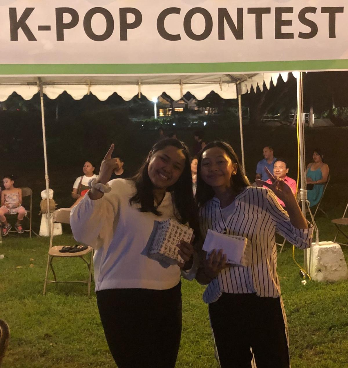 Sisters win K-pop dance contest