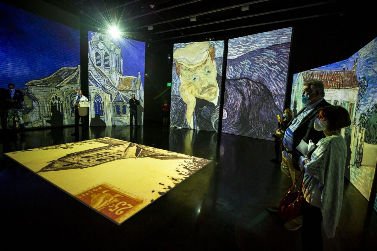 'Van Gogh Alive' brings multisensory art experience to the Dali Museum
