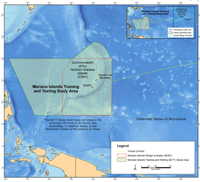 Guam, Navy extend agreement on training areas