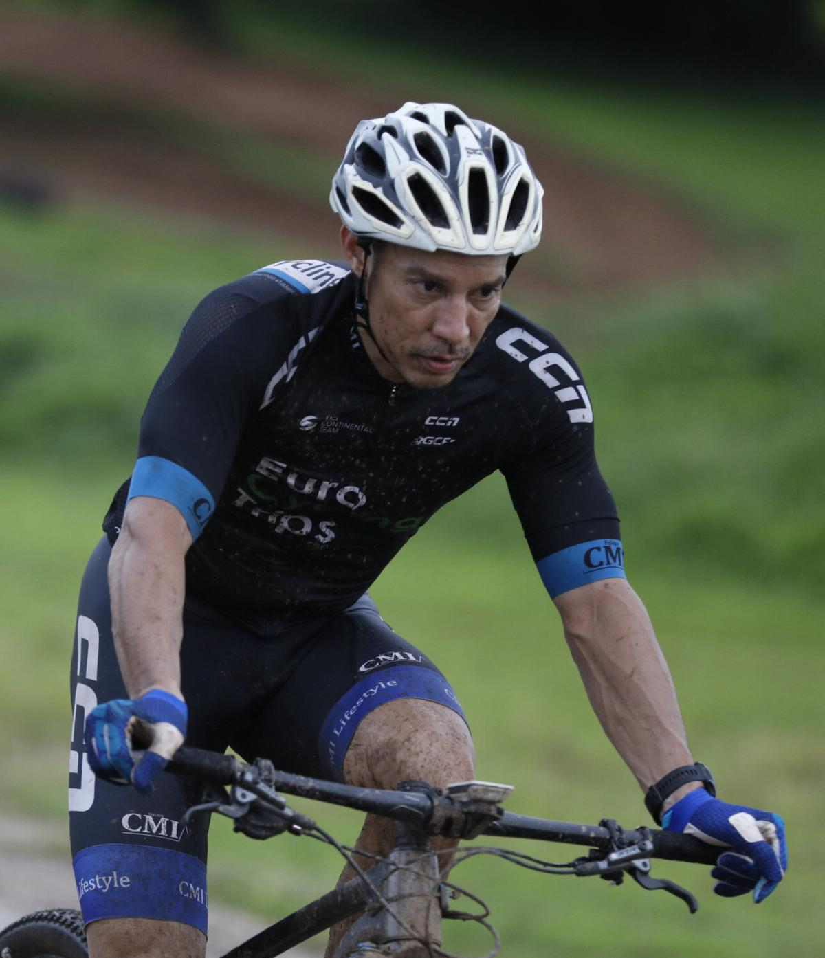 More than 100 cyclists test mettle in endurance race