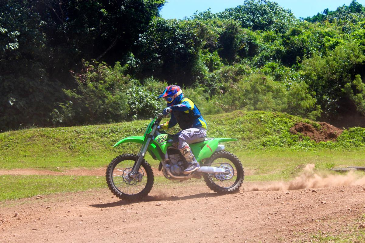 'Little' John Aguon: Monster Energy Motocross champ
