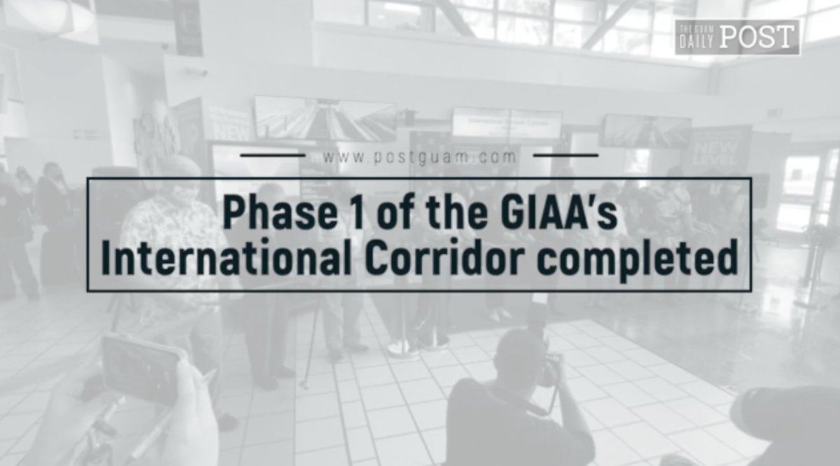 Phase 1 of the GIAA's International Corridor completed