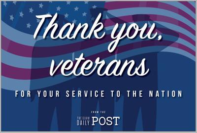 We thank all who serve, and have served, our nation