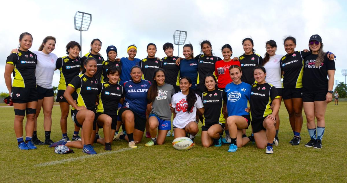 Guam ruggers learn from No. 12 Japan