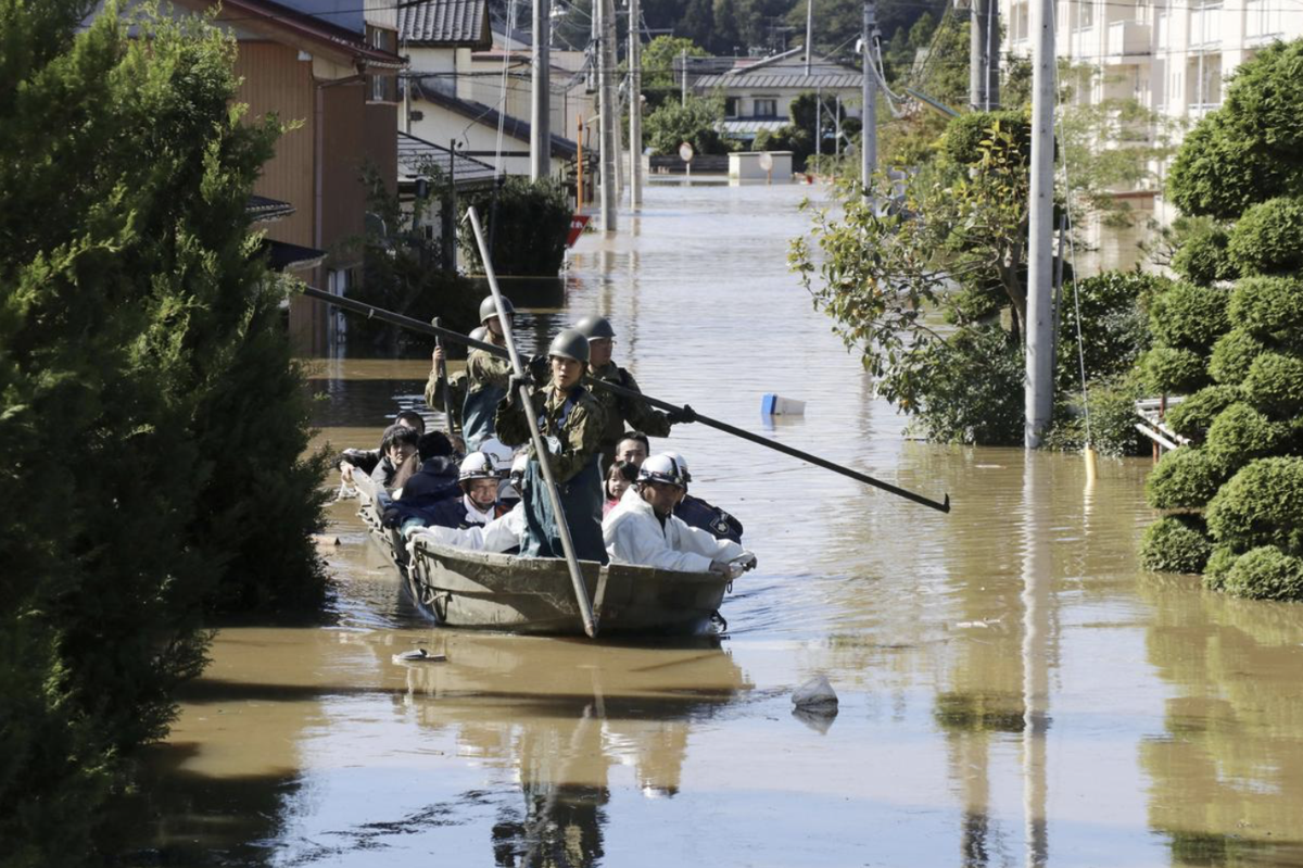 Japan faces flooding from two more storms