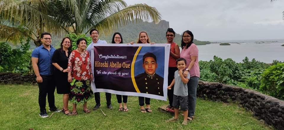 Son of Micronesia graduates from Naval Academy