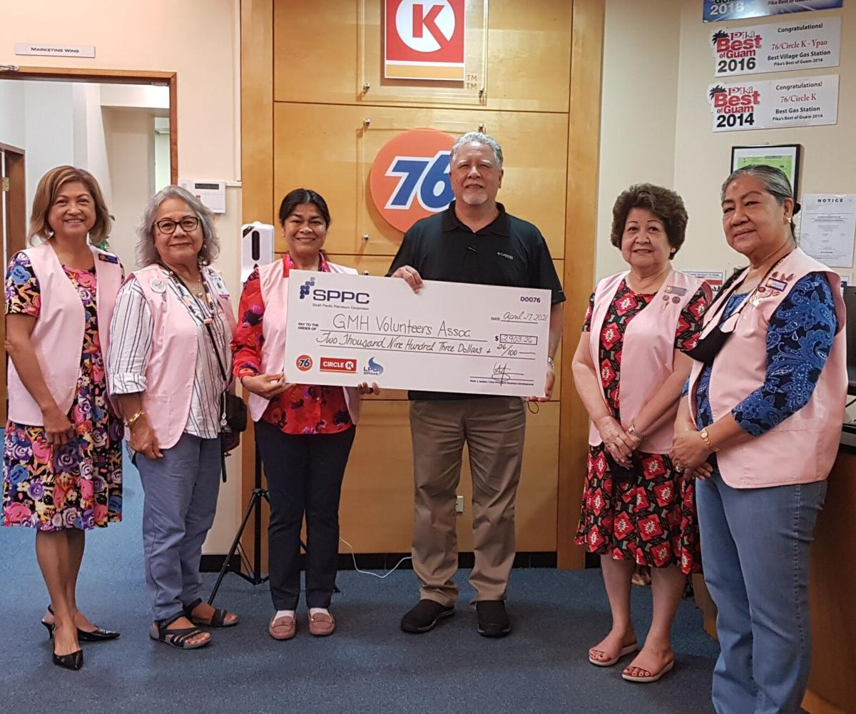 SPPC donates to GMH Volunteers Association