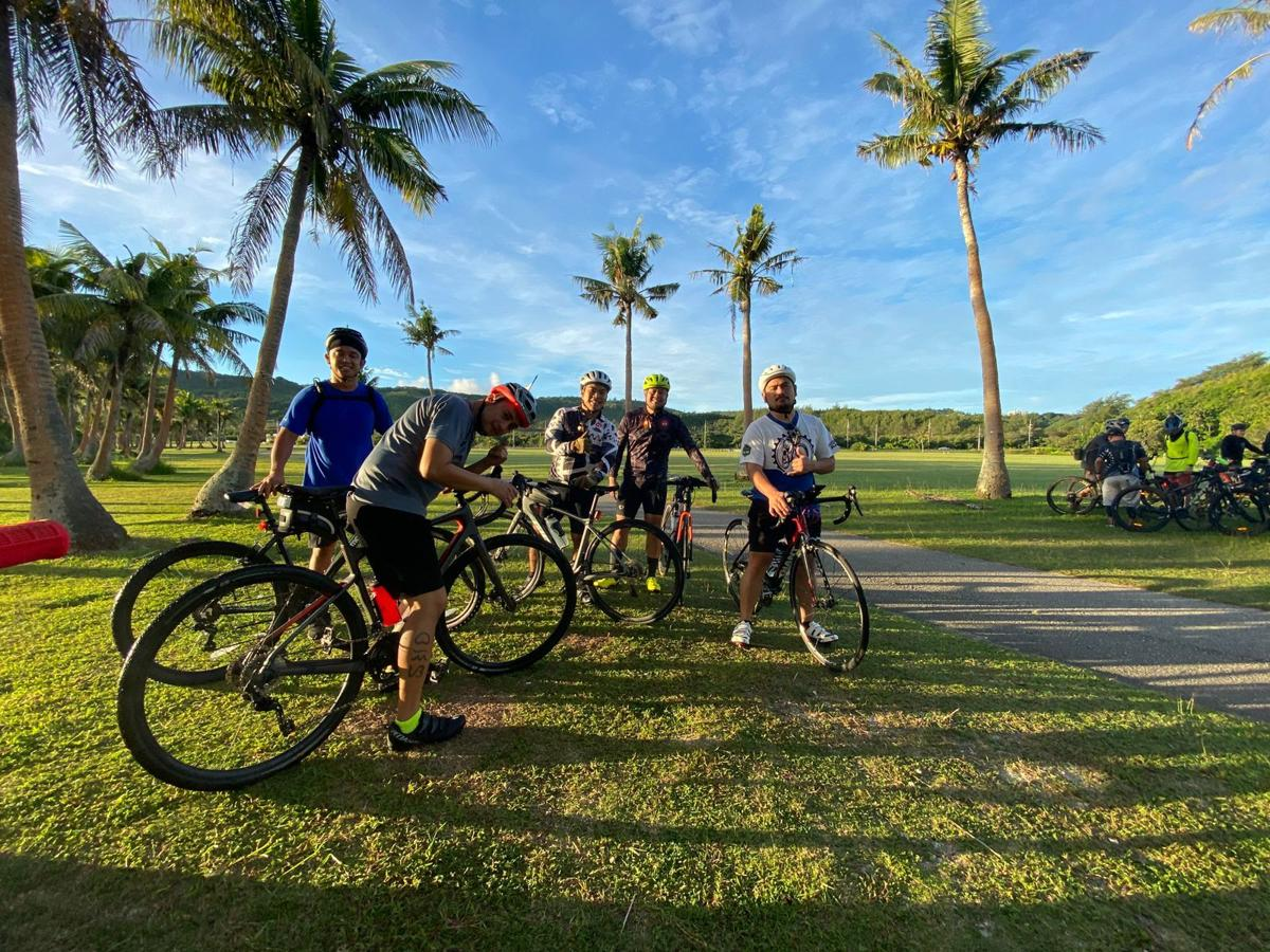 Cyclists celebrate Philippine Independence Day