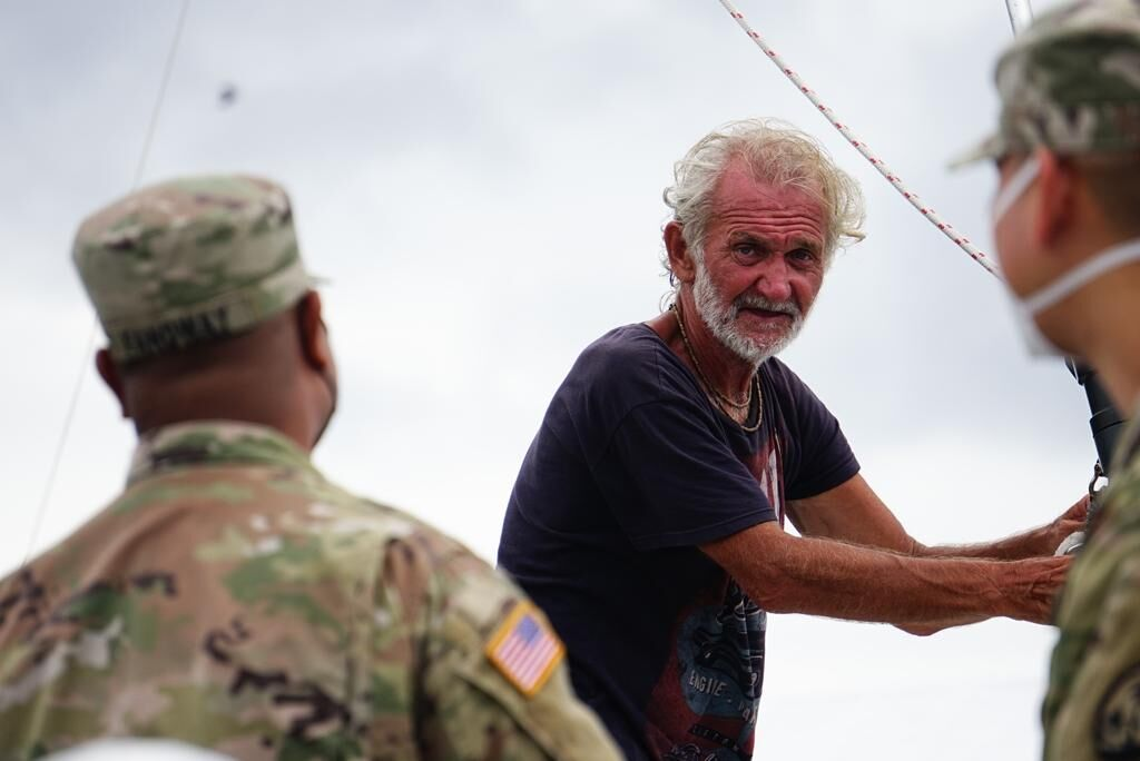 Out of food, man's sailboat trip from Mexico stops on Guam